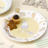 Baby Miffy Paper Plates (8)